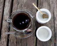 新鲜的咖啡 免版税库存照片