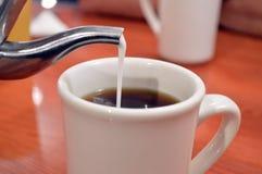 新鲜的咖啡 库存照片