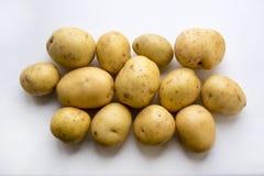 新鲜的土豆 免版税图库摄影