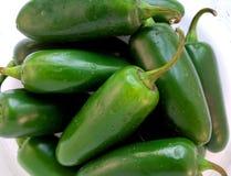 新鲜的墨西哥胡椒 库存图片