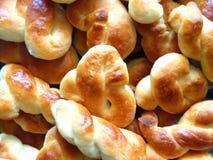 新鲜的复活节面包 免版税图库摄影