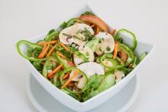 新鲜的夏天菜沙拉 库存照片