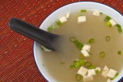 新鲜的大酱汤 免版税库存图片