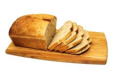 新鲜的家庭做的黑面包 免版税库存图片