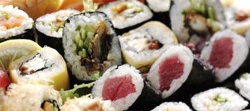 新鲜的寿司 免版税图库摄影