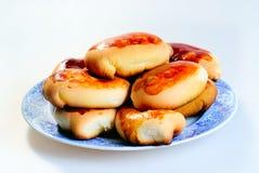 新鲜的小馅饼 免版税图库摄影