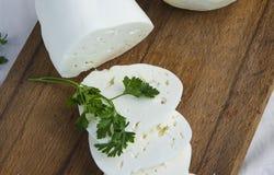 新鲜的山羊乳干酪8 库存图片