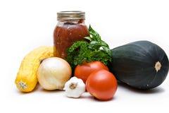 新鲜的庭院蔬菜 库存图片