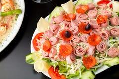 新鲜的开胃小菜沙拉 免版税库存照片