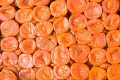 新鲜的开胃杏干 免版税图库摄影