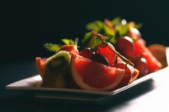 新鲜的开胃果子 免版税库存图片