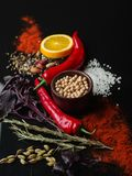 新鲜的开胃菜照片  适当的营养 素食主义 库存图片