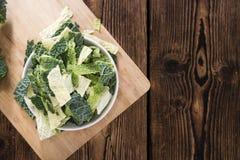 新鲜的开胃菜的部分 库存图片