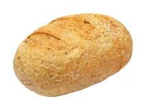 新鲜的开胃整粒面包 查出 库存照片