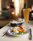 新鲜的意大利面食蔬菜 免版税库存图片