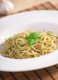 新鲜的意大利面食 免版税库存图片