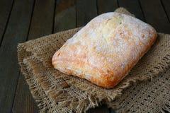 新鲜的意大利ciabatta,面包 库存图片