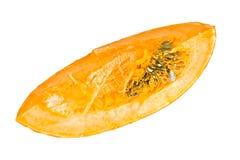 新鲜的成熟南瓜 健康饮食的菜 免版税库存照片
