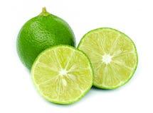 新鲜的成熟柠檬。 免版税库存图片