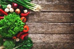 新鲜的成熟蔬菜 免版税库存照片