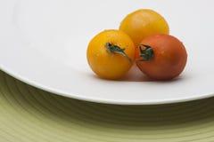 新鲜的成熟蕃茄 免版税图库摄影