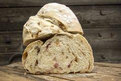 新鲜的房子面包 免版税图库摄影