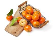 新鲜的普通话柑橘 免版税库存照片