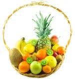 新鲜的有机果子 免版税库存照片