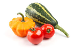 新鲜的有机菜素食主义者静物画  免版税库存照片