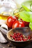 新鲜的有机蔬菜 免版税库存照片