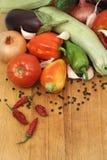新鲜的有机蔬菜 图库摄影