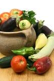 新鲜的有机蔬菜 免版税库存图片