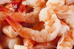 新鲜的有机虾仁开胃品 图库摄影