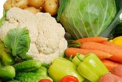 新鲜的未加工的蔬菜 免版税库存图片