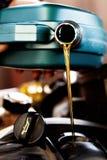 新鲜的机油 免版税库存图片