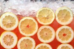 新鲜的柠檬水 图库摄影