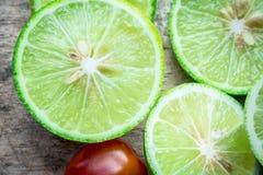 新鲜的柠檬 免版税库存照片