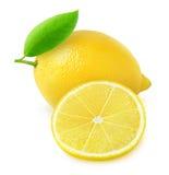 新鲜的柠檬 免版税库存图片