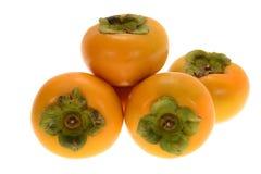 新鲜的柿子 免版税图库摄影