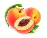 新鲜的桃子 免版税库存照片