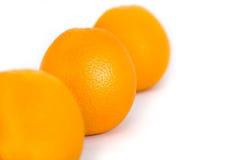 新鲜的桔子 免版税图库摄影