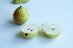新鲜的梨 免版税库存图片
