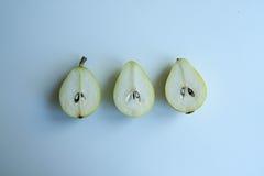 新鲜的梨 免版税库存照片