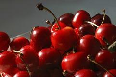 新鲜的樱桃 免版税库存照片
