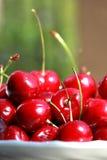 新鲜的樱桃 库存照片