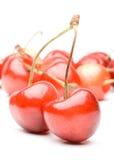 新鲜的樱桃 库存图片