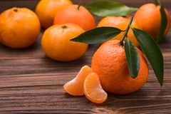 新鲜的橘子 库存图片
