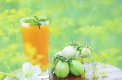新鲜的橙汁 免版税图库摄影