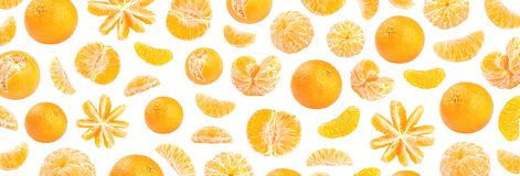 新鲜的橙色普通话摄影样式 图库摄影