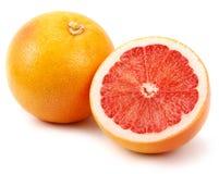 新鲜的水多的葡萄柚 库存照片